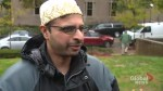Members of Pittsburgh's Muslim community show support for Jewish community after shooting